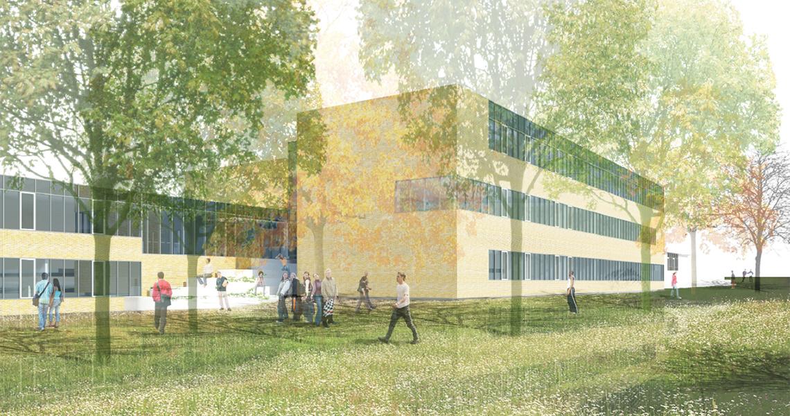 Tilbygning til skole