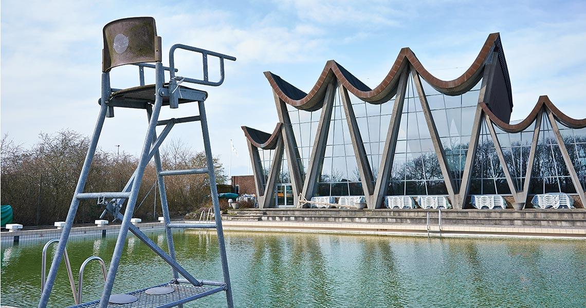 Opførelse af nyt 50 m bassin ved svømmehal