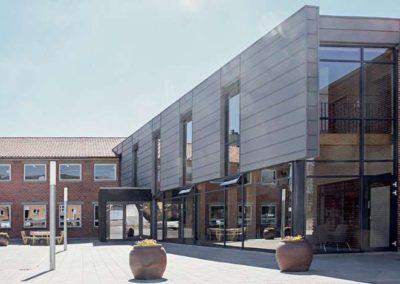 Projektudvikling og opførelse af kontor domicil – Menighedsfakultetet i Aarhus