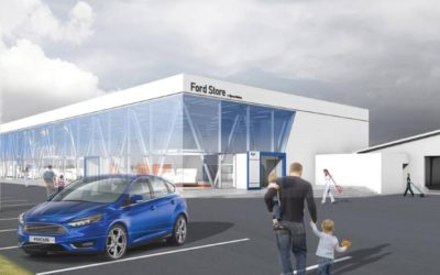 Bygherrerådgiver ved etablering af bilhus – Ford Store