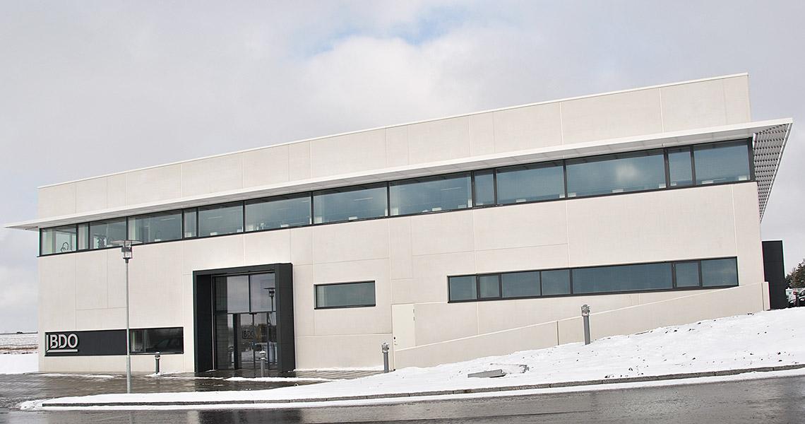 Opførelse af 2.500 kvm kontordomicil