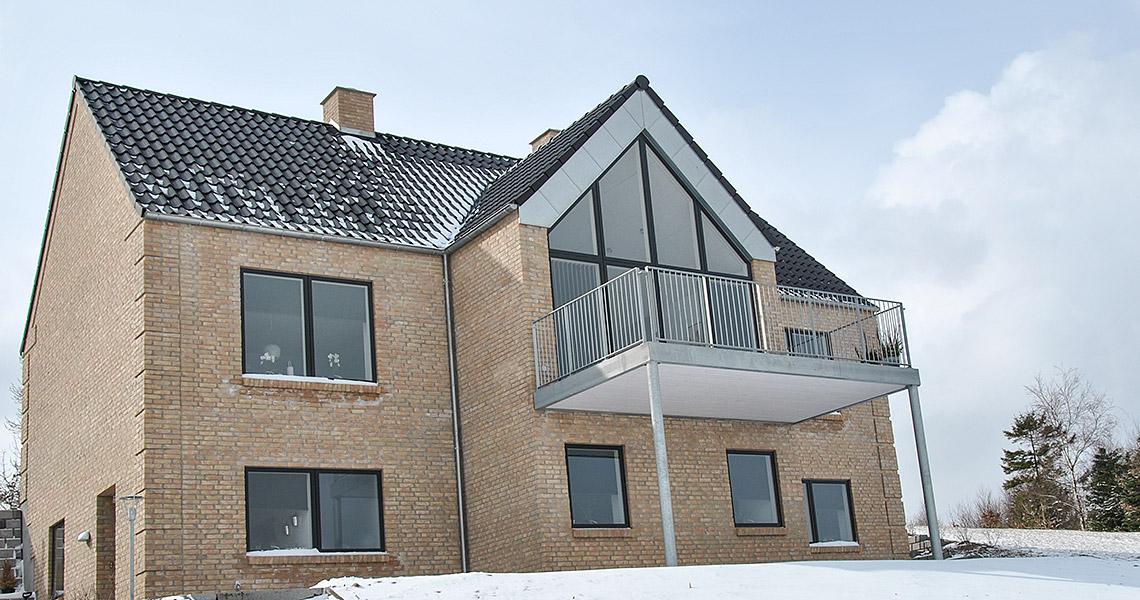 Opførelse af privat villa med bygherrerådgivning